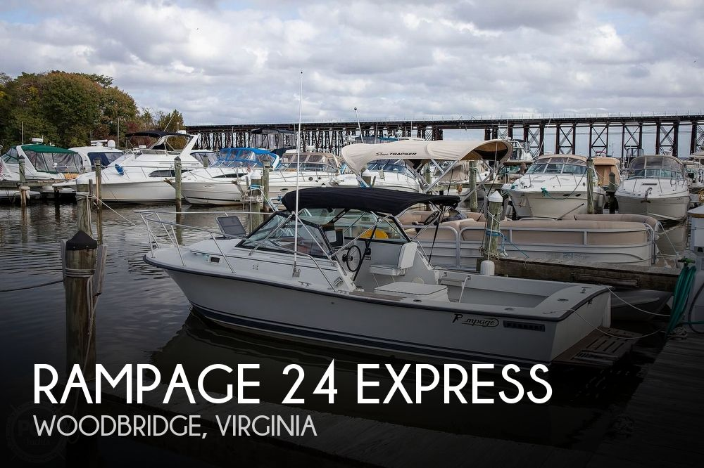 1988 Rampage boat for sale, model of the boat is 24 Express & Image # 1 of 40