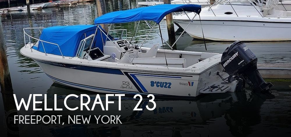 Used Wellcraft 23 Boats For Sale by owner | 1987 Wellcraft 23 Sports Fisherman