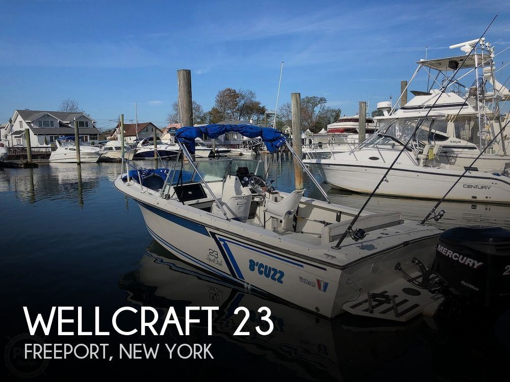 1987 Wellcraft boat for sale, model of the boat is 23 Sports Fisherman & Image # 1 of 40