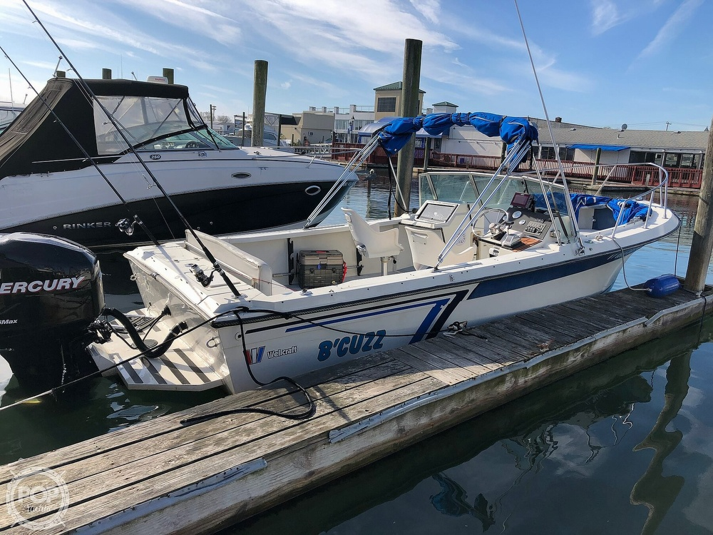 1987 Wellcraft boat for sale, model of the boat is 23 Sports Fisherman & Image # 6 of 40