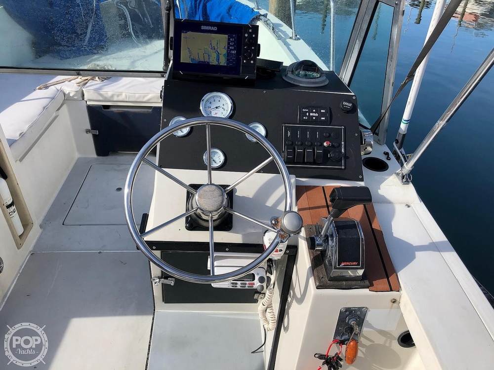 1987 Wellcraft boat for sale, model of the boat is 23 Sports Fisherman & Image # 12 of 40