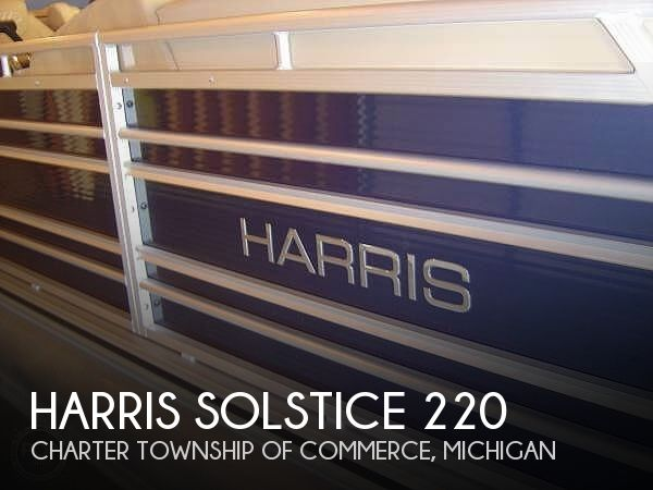 Used Harris Pontoon Boats For Sale by owner | 2015 22 foot Harris Soltice
