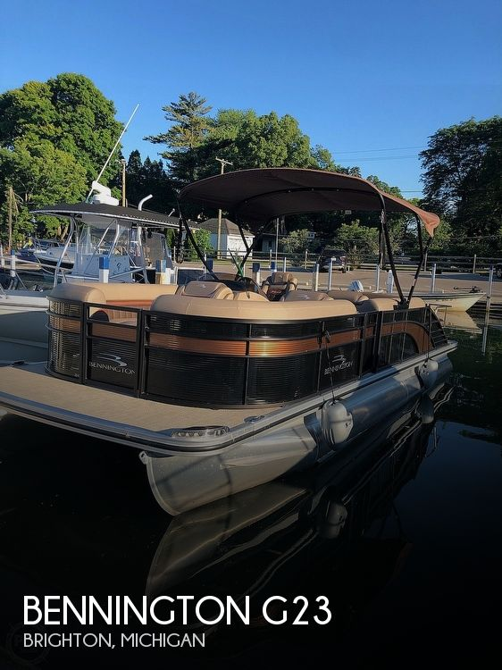 Used Pontoon Boats For Sale in Michigan by owner | 2019 Bennington 23 Gsb