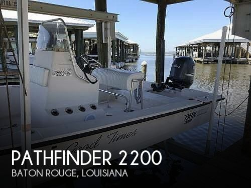 Used Pathfinder Boats For Sale by owner | 2003 Pathfinder 2200