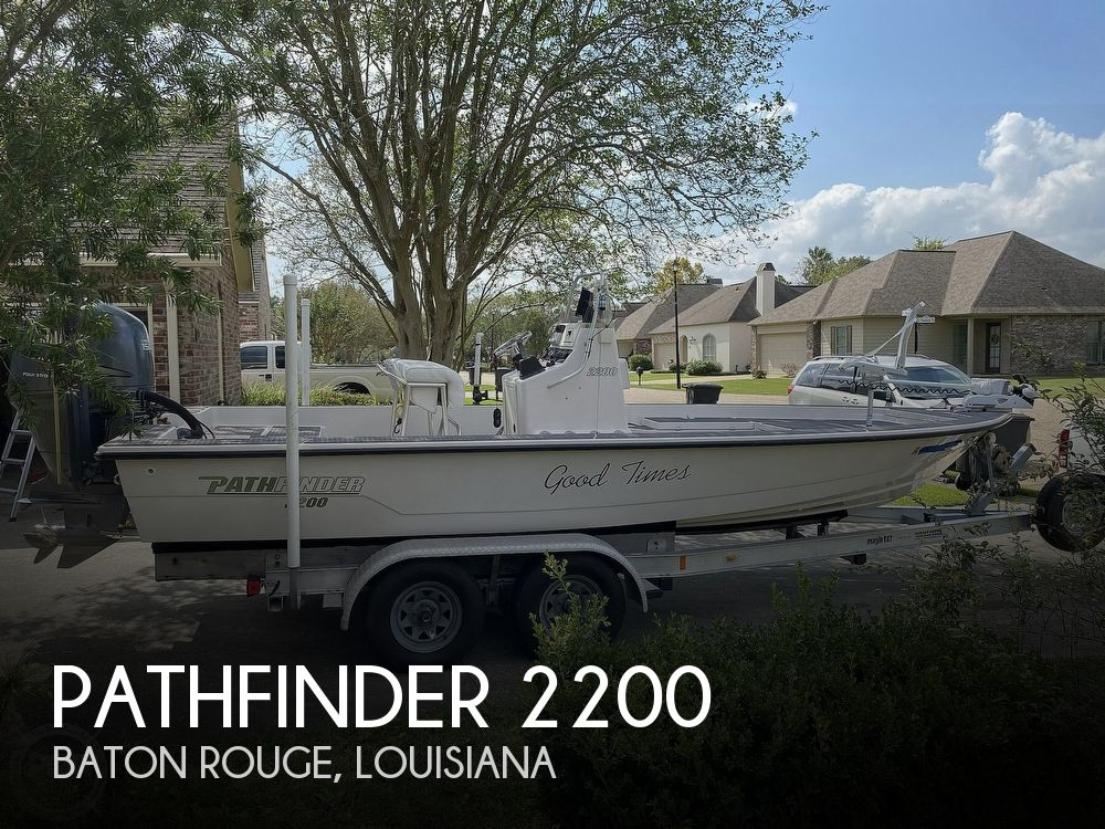 2003 Pathfinder boat for sale, model of the boat is 2200 & Image # 1 of 40