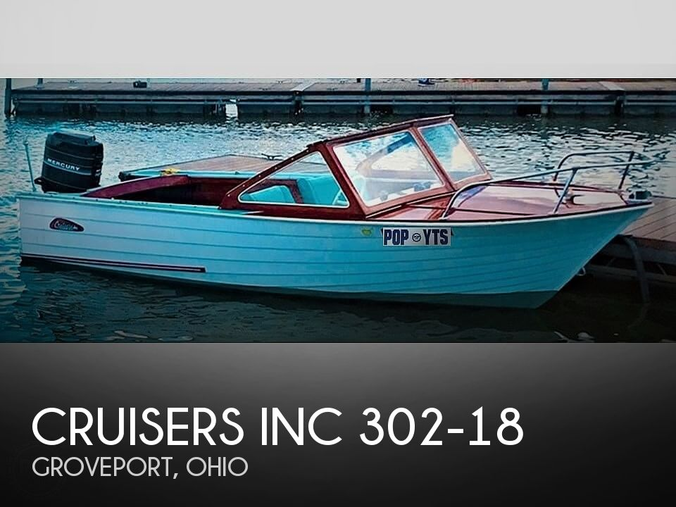 1964 Cruisers Yachts boat for sale, model of the boat is 302-18 & Image # 1 of 41