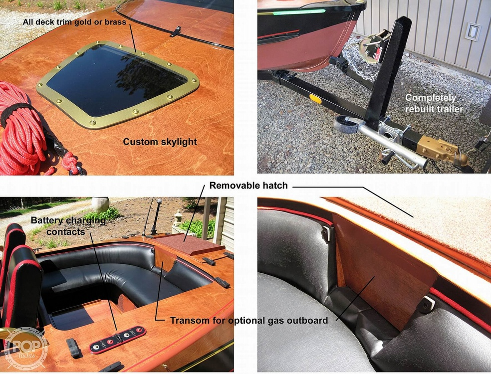 1988 Custom boat for sale, model of the boat is 14 & Image # 5 of 10