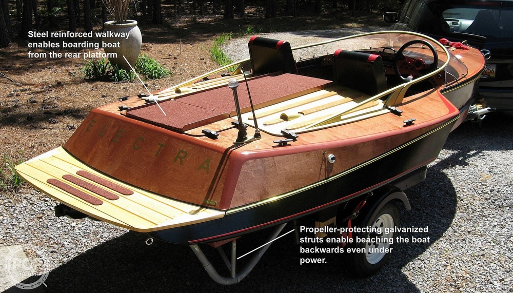 1988 Custom boat for sale, model of the boat is 14 & Image # 9 of 10