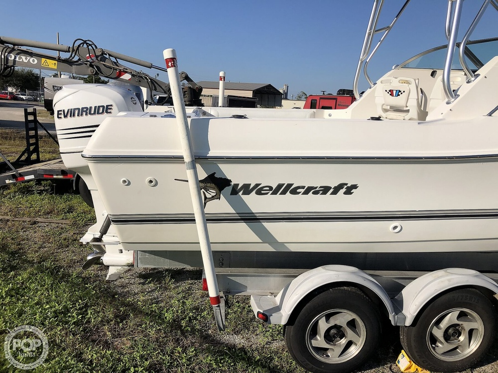 2002 Wellcraft boat for sale, model of the boat is 24 & Image # 29 of 40