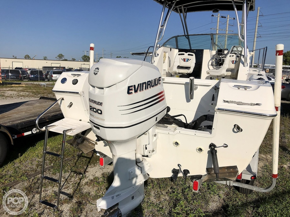 2002 Wellcraft boat for sale, model of the boat is 24 & Image # 32 of 40