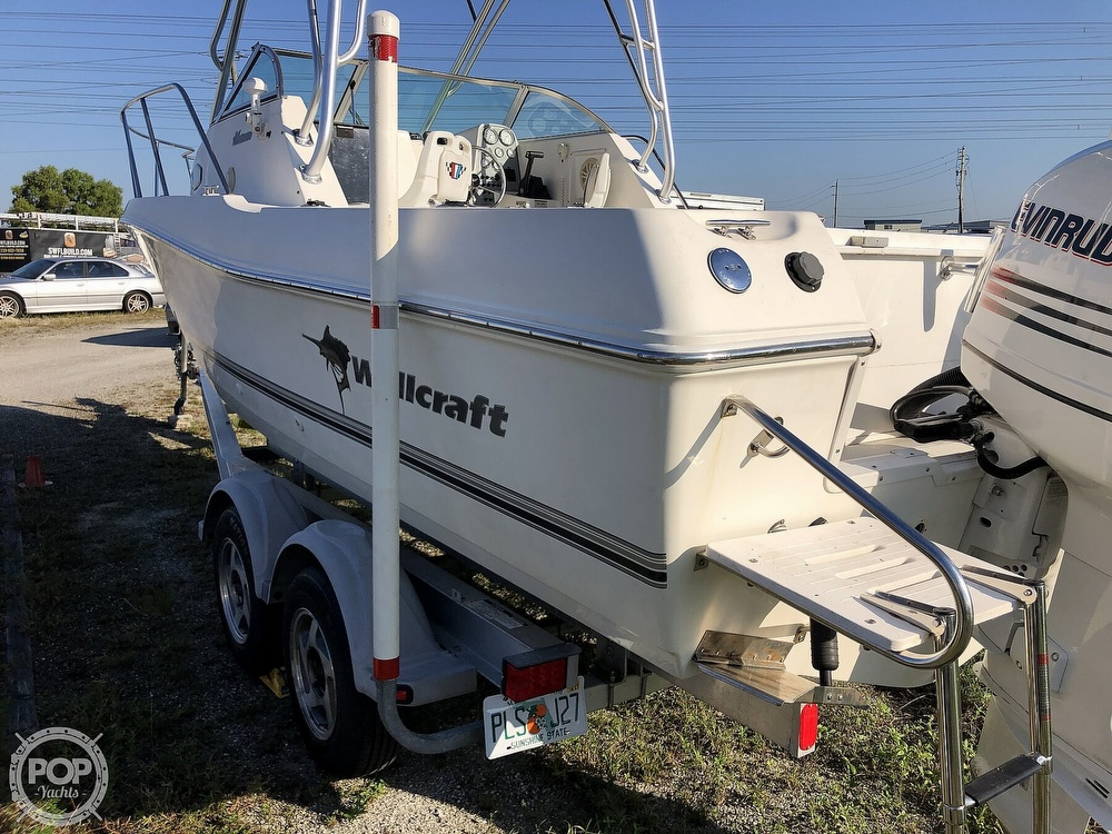 2002 Wellcraft boat for sale, model of the boat is 24 & Image # 35 of 40