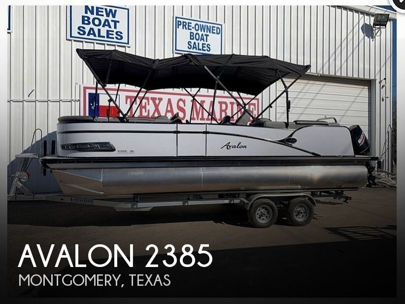Used Avalon Boats For Sale by owner | 2020 Avalon Catalina 2385QL