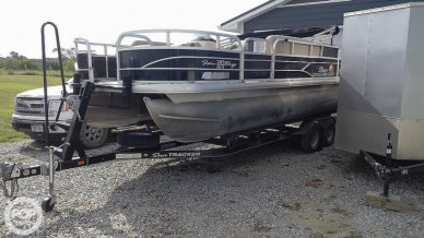Sun Tracker 20 DLX Fishing Barge, 20, for sale - $26,750