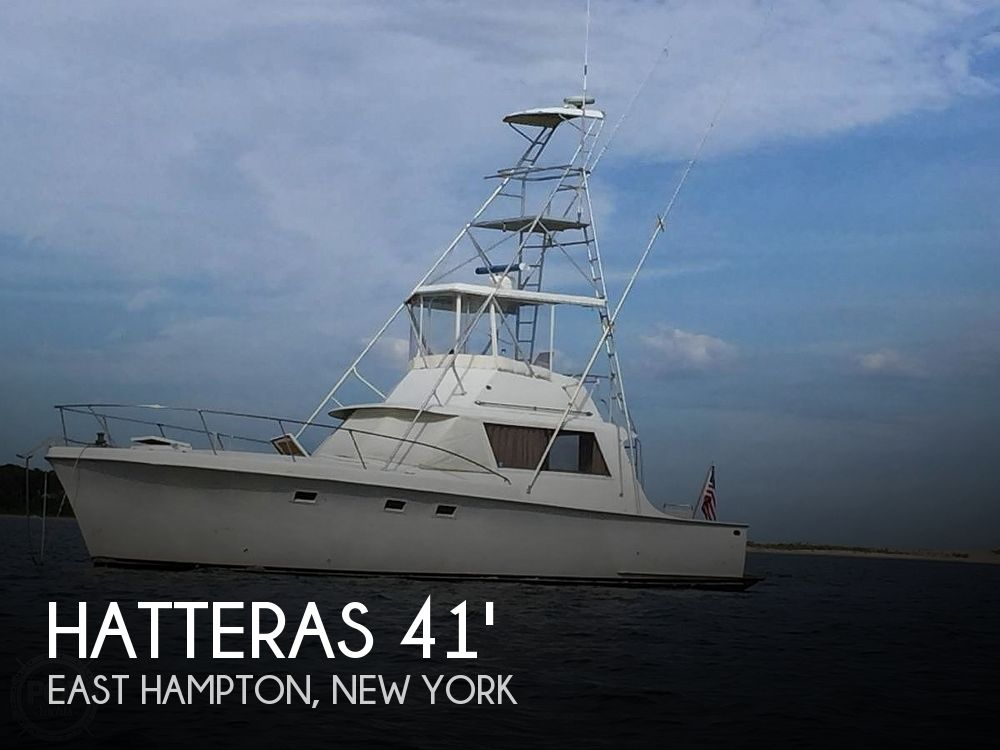 1967 Hatteras boat for sale, model of the boat is 41' Convertible & Image # 1 of 40