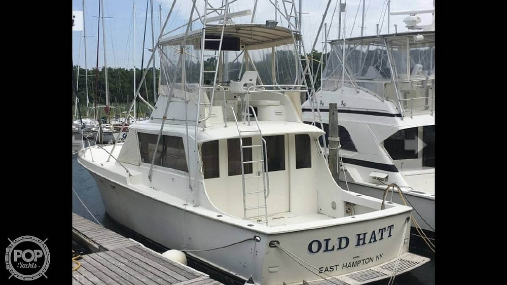 1967 Hatteras boat for sale, model of the boat is 41' Convertible & Image # 3 of 40