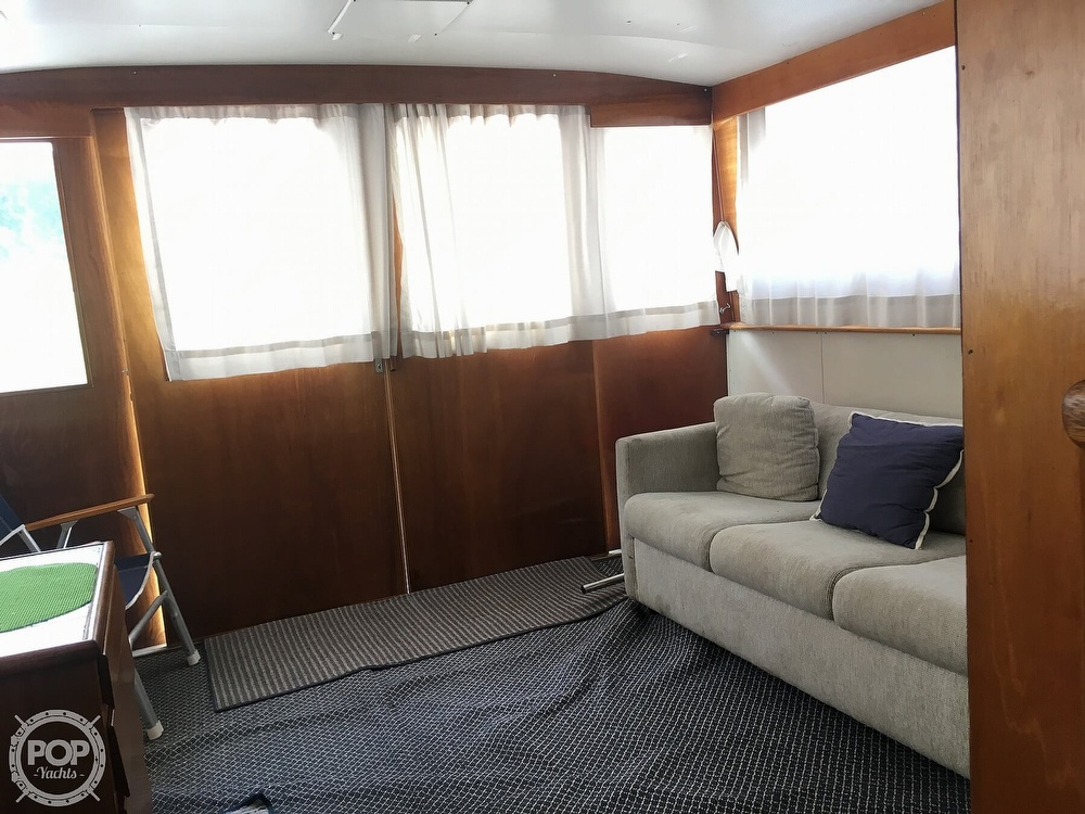 1967 Hatteras boat for sale, model of the boat is 41' Convertible & Image # 9 of 40