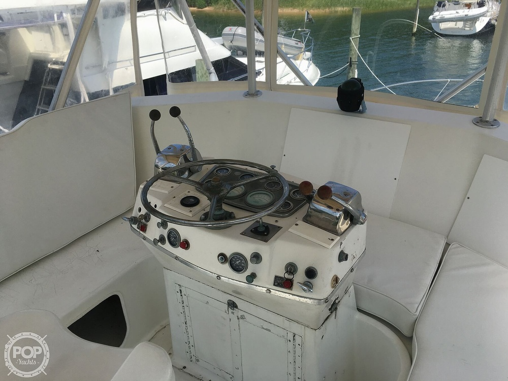 1967 Hatteras boat for sale, model of the boat is 41' Convertible & Image # 6 of 40
