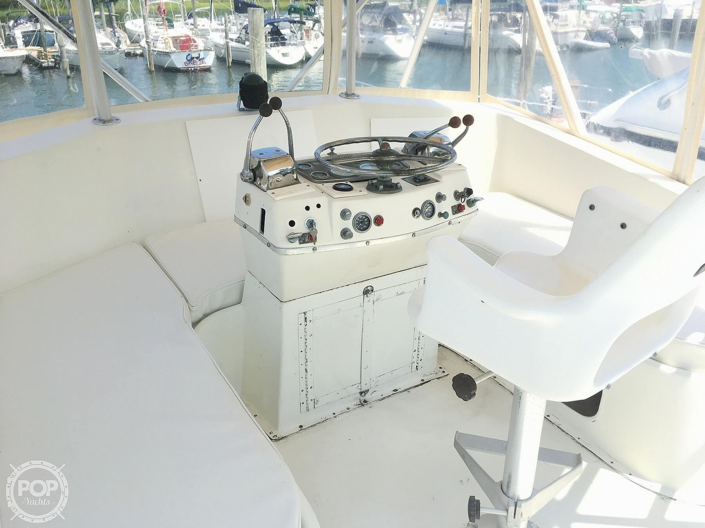 1967 Hatteras boat for sale, model of the boat is 41' Convertible & Image # 5 of 40