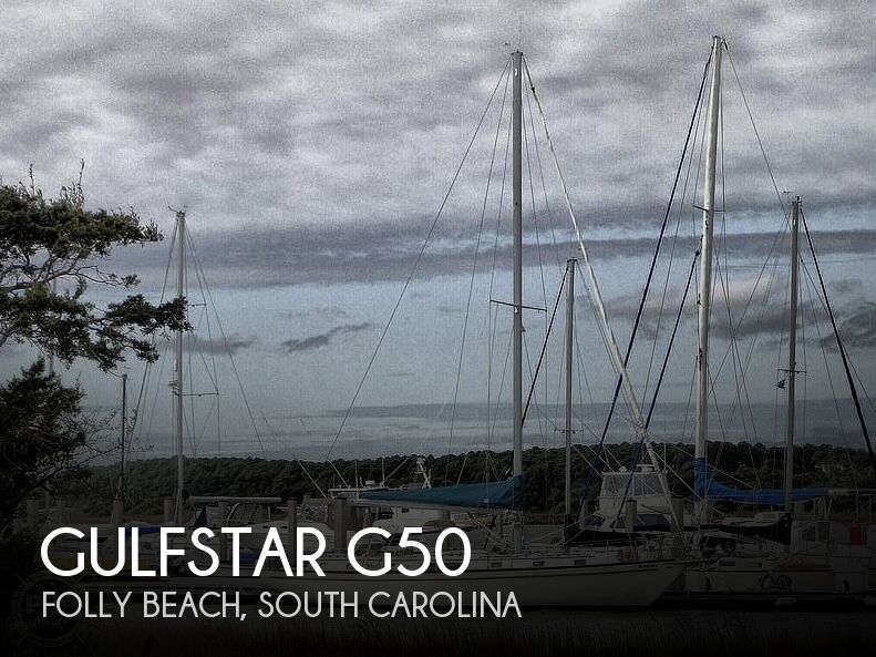 1977 Gulfstar boat for sale, model of the boat is G50 & Image # 1 of 40
