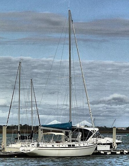 1977 Gulfstar boat for sale, model of the boat is G50 & Image # 2 of 40