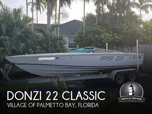1995 DONZI 22 CLASSIC for sale