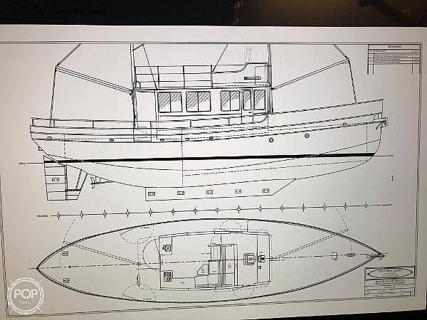 1994 Custom boat for sale, model of the boat is 56 & Image # 8 of 40