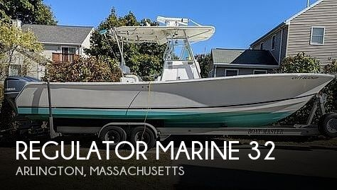 2004 Regulator Marine boat for sale, model of the boat is 32 & Image # 1 of 40