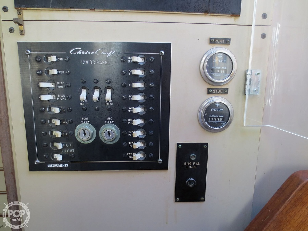 1981 Chris Craft boat for sale, model of the boat is 381 Catalina & Image # 12 of 40