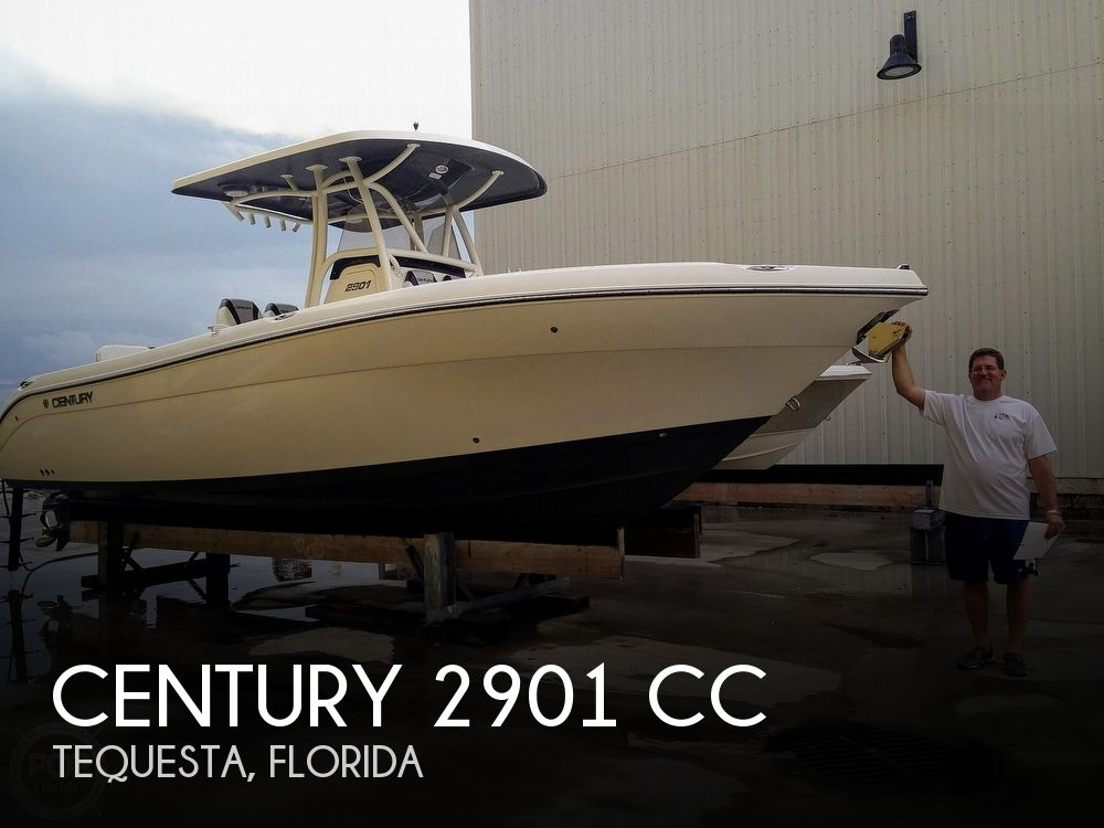 Used Power boats For Sale in Port St. Lucie, Florida by owner | 2015 Century 2901