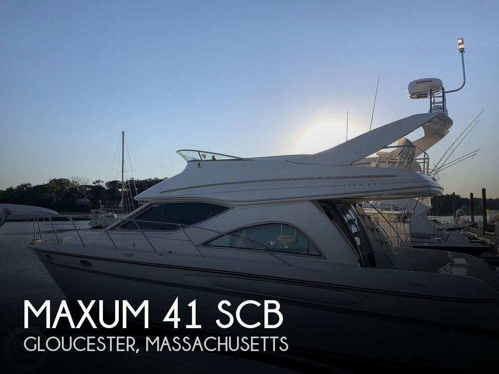 1999 MAXUM 41 SCB for sale