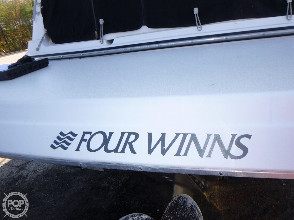 2001 Four Winns boat for sale, model of the boat is 248 Vista & Image # 10 of 40