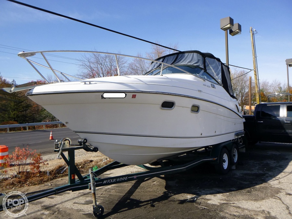 2001 Four Winns boat for sale, model of the boat is 248 Vista & Image # 2 of 40