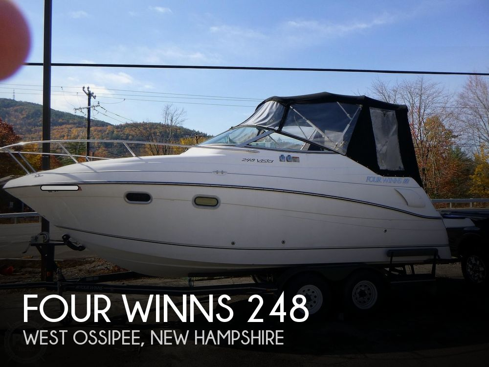 2001 Four Winns boat for sale, model of the boat is 248 Vista & Image # 1 of 40