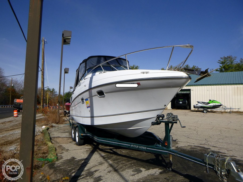 2001 Four Winns boat for sale, model of the boat is 248 Vista & Image # 4 of 40