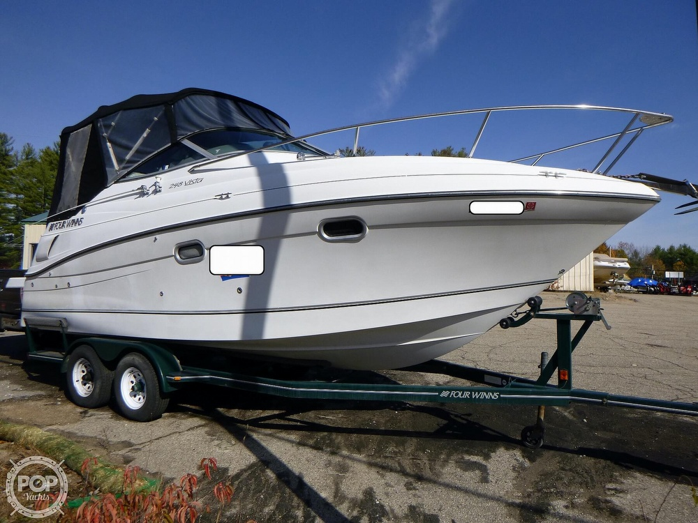 2001 Four Winns boat for sale, model of the boat is 248 Vista & Image # 3 of 40