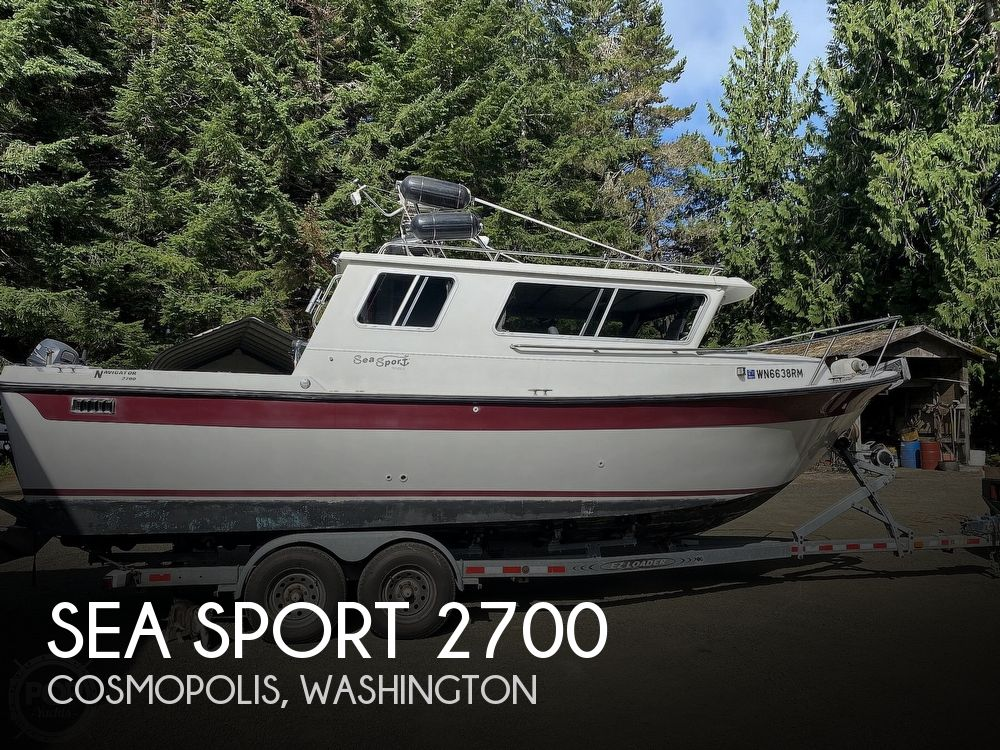 Used SEA SPORT Boats For Sale by owner | 1994 Sea Sport Navigator 2700