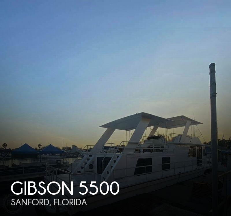 Used GIBSON Houseboats For Sale in Deltona, Florida by owner | 2001 Gibson 5500
