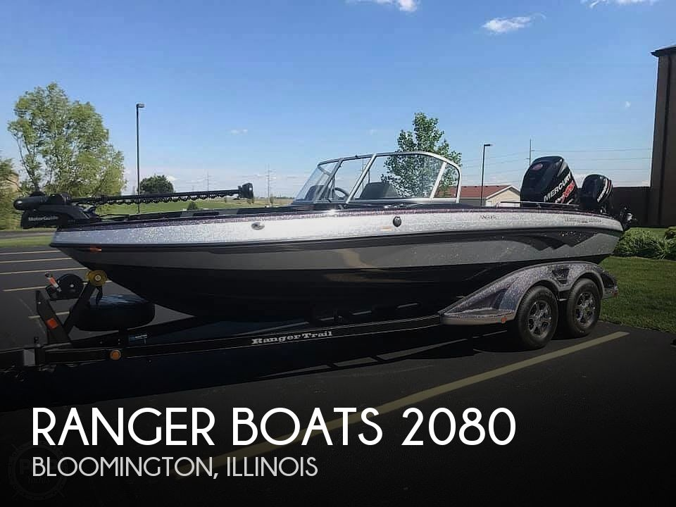 Used Boats For Sale in Peoria, Illinois by owner | 2015 Ranger Boats Angler 2080ls