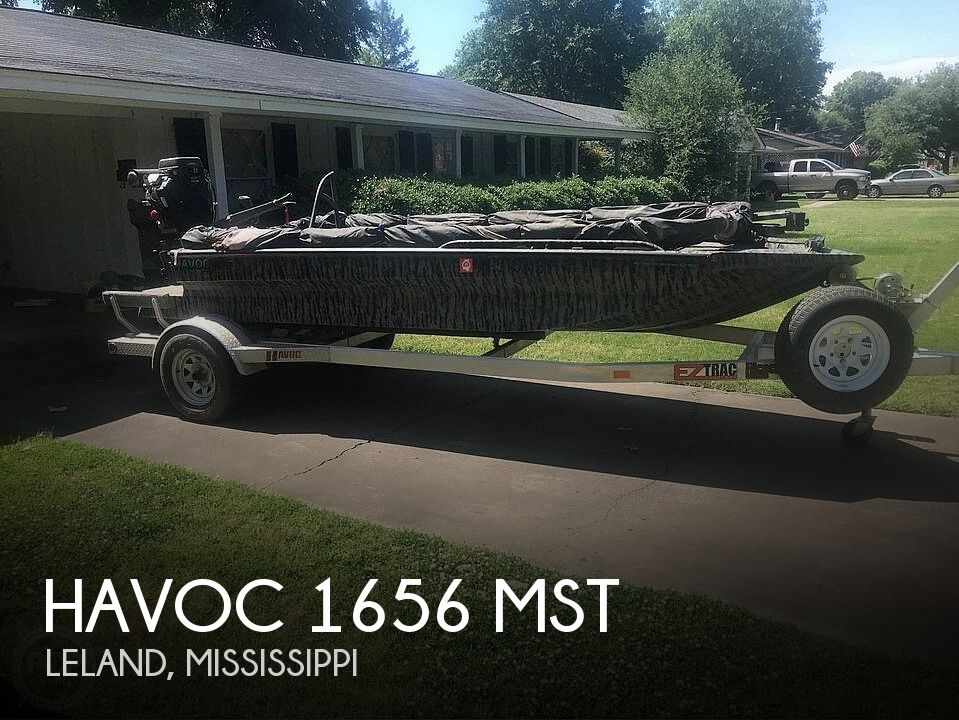 2017 Havoc boat for sale, model of the boat is 1656 MST & Image # 1 of 6