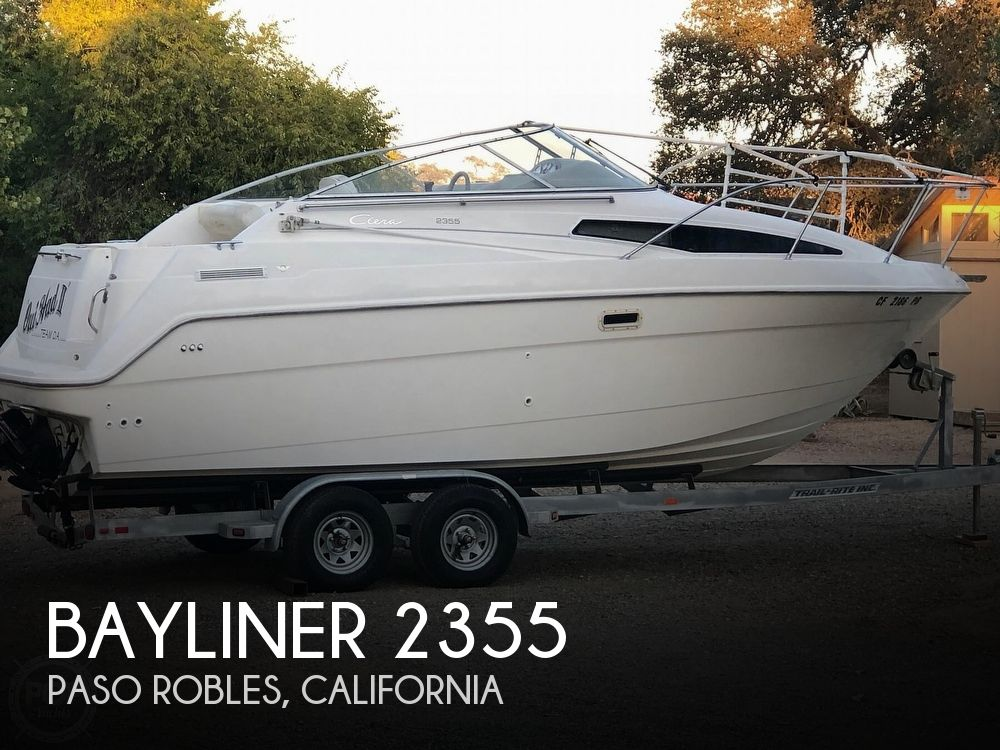 Used Bayliner Boats For Sale in San Luis Obispo, California by owner | 1997 Bayliner 2355 Ciera SB