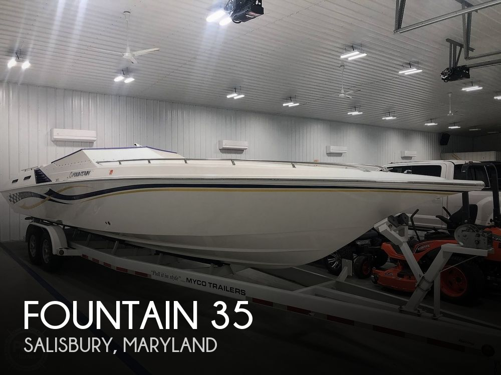 2004 Fountain boat for sale, model of the boat is Fountain 35 Executioner & Image # 1 of 40