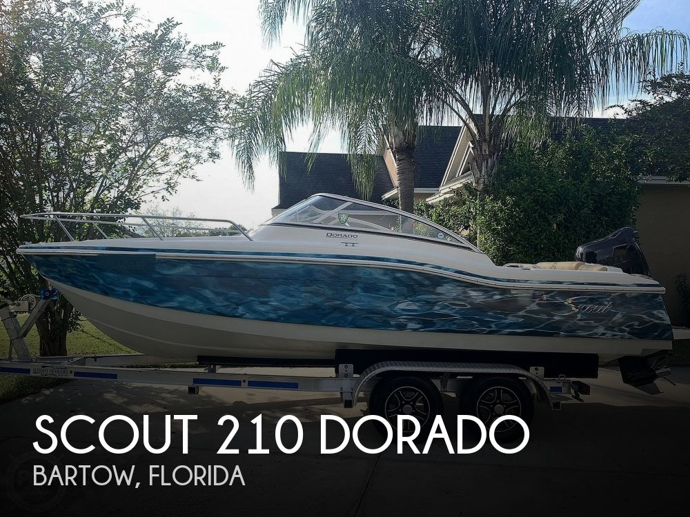 2014 Scout boat for sale, model of the boat is 210 Dorado & Image # 1 of 40