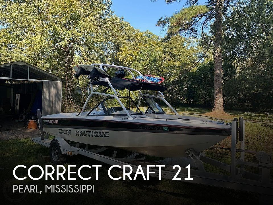 1994 Correct Craft boat for sale, model of the boat is Sport Nautique 21 & Image # 1 of 4