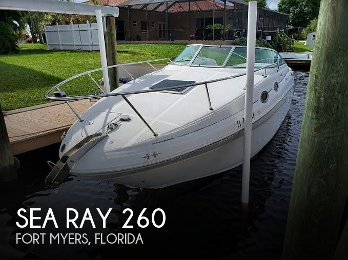 1999 Sea Ray boat for sale, model of the boat is 260 Sundancer & Image # 1 of 40