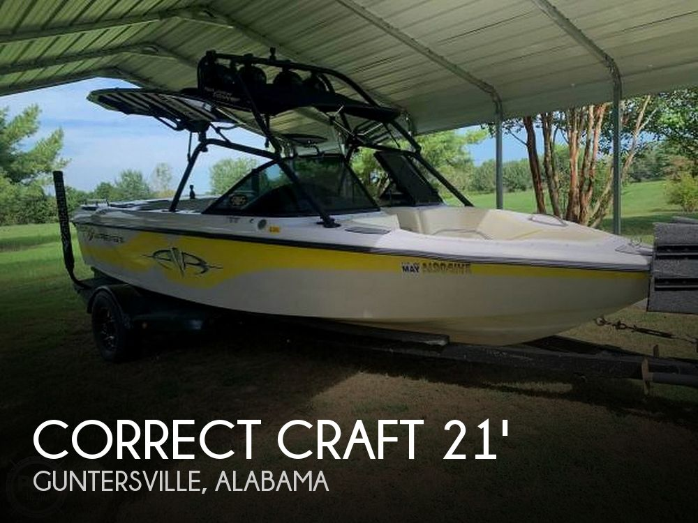2000 Correct Craft boat for sale, model of the boat is Super Air Nautique & Image # 1 of 41