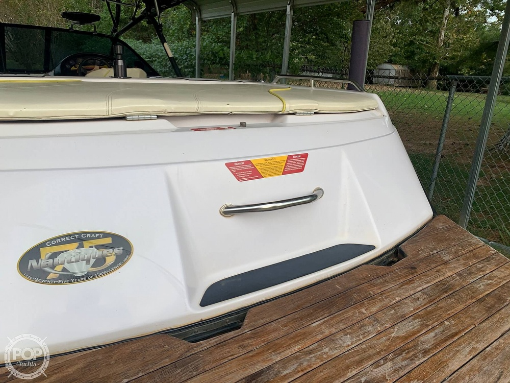 2000 Correct Craft boat for sale, model of the boat is Super Air Nautique & Image # 39 of 41