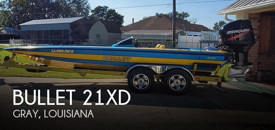 Used BULLET Boats For Sale by owner | 2005 Bullet 21xd
