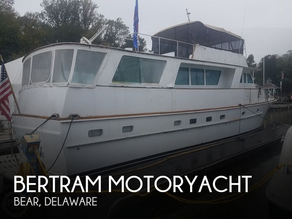 Used Boats For Sale in Delaware by owner | 1972 63 foot Bertram Motoryacht