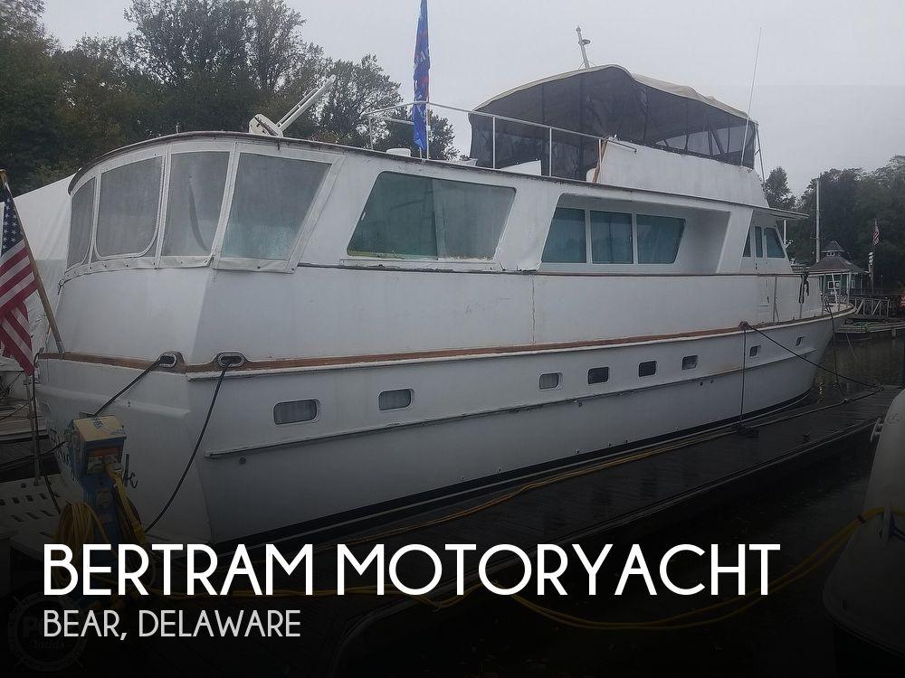 Used Motoryachts For Sale in Lancaster, Pennsylvania by owner | 1972 63 foot Bertram Motoryacht
