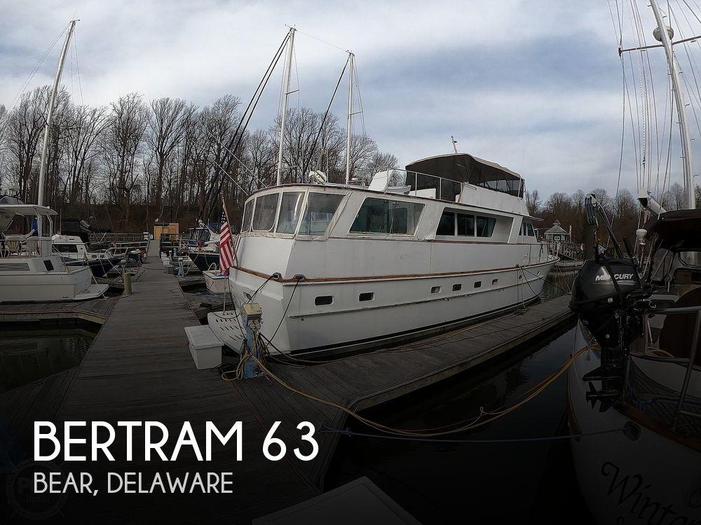1972 Bertram boat for sale, model of the boat is 63 Motoryacht & Image # 1 of 40